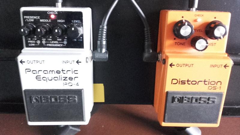 Test de la Boss PQ-4 Parametric Equalizer- DS1